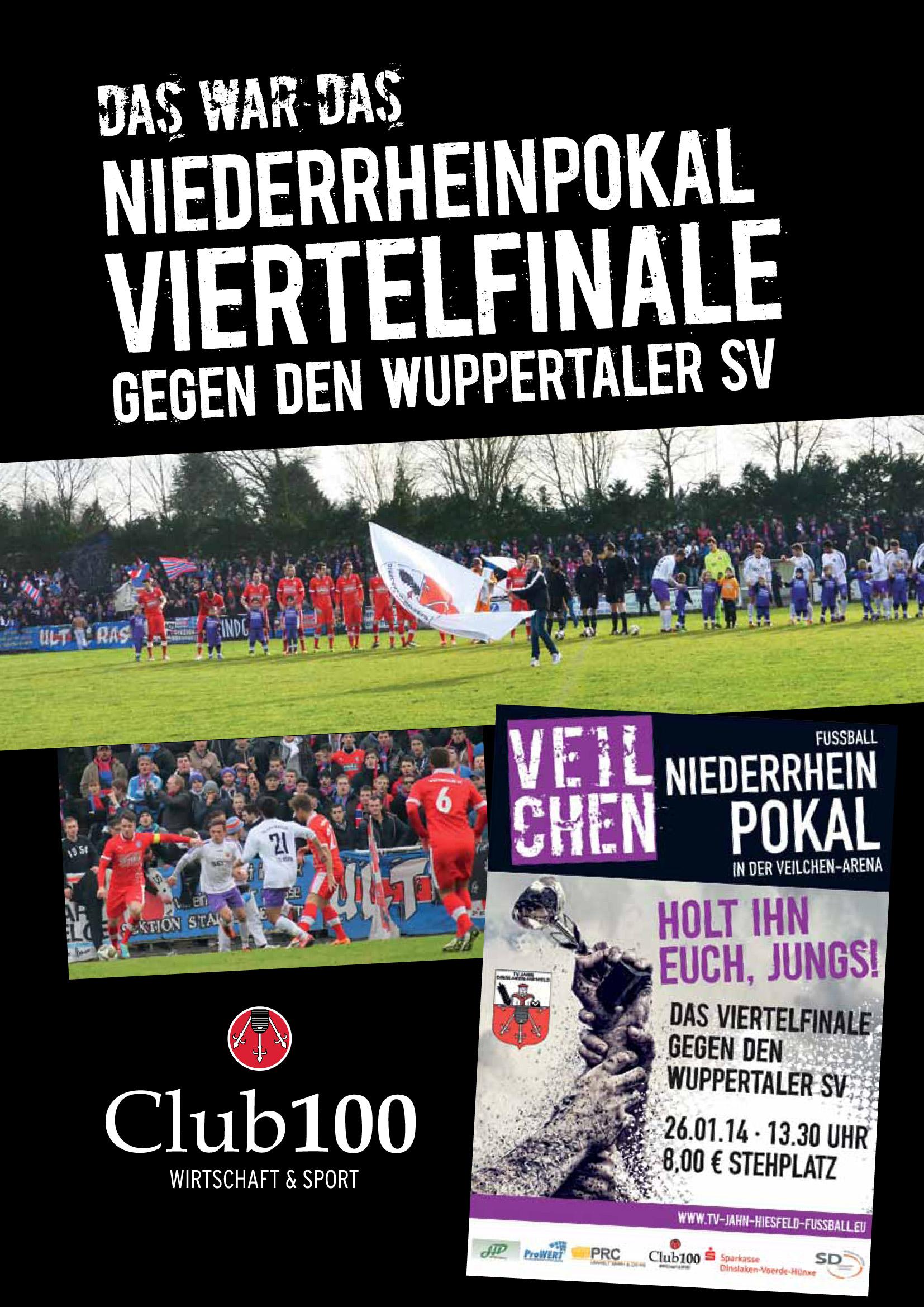 Ergebnisse Niederrheinpokal